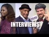 My Interviews with Toks Olagundoye, Tony Todd &amp Charles Halford 'REIGN OF THE SUPERMEN'