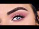 Soft Rose Gold Festival Eye Makeup Tutorial | Huda Beauty Nude Palette Deck of Scarlet