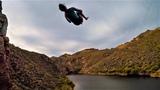 Sending 90 Foot Cliff Jumps at Canyon Lake! (Arizona)