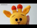 Амигуруми схема Малыш Жирафик Игрушки вязанные крючком Free crochet patterns