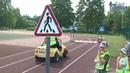Фонд по безопасности дорожного движения Ленинградской области привез в Сланцы мобильный автогородок