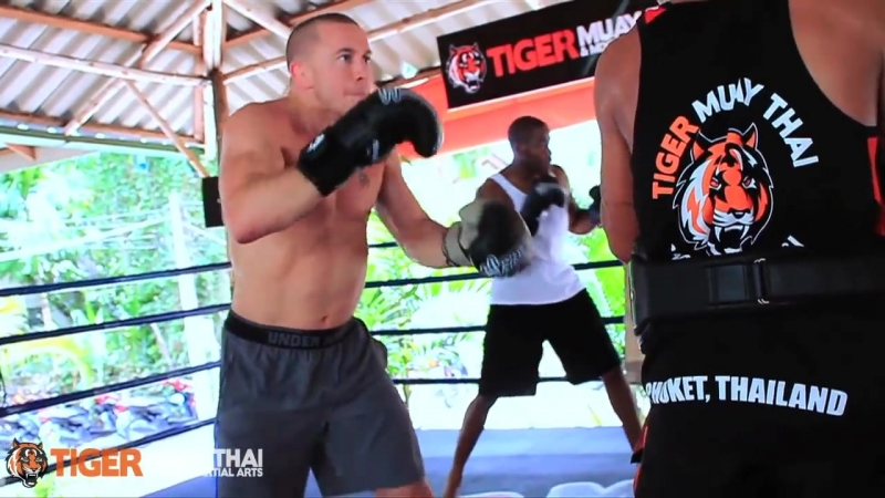 Georges St-Pierre (GSP) Trains Tiger Muay Thai MMA