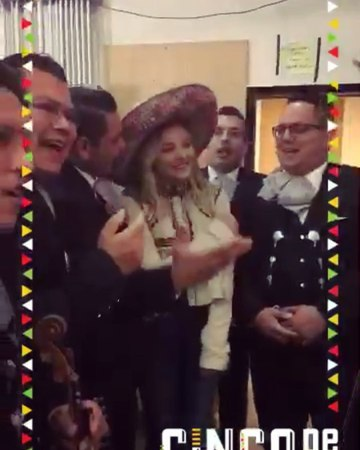"""Chloe Grace Moretz on Instagram Couldn't ask for a better day to be promoting Neighbors2 on @despiertamerica cincodemayo sombrero mariachi"""""""