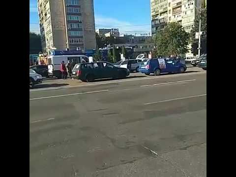 Бойкот против цент на топливо в центре Черкасс