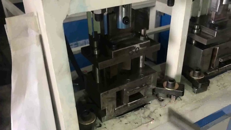 Tube End 45 Degree Hydraulic Cutting Machine For 20MM Square Tube