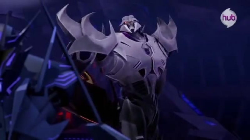Megatron's Favorite Song Transformers Prime Takeover (Promo) - The Hub
