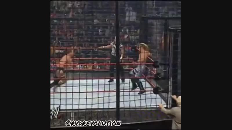 |WM| Triple H vs Edge vs Chris Benoit vs Chris Jericho vs Batista vs Randy Orton - New Years Revolution 2005 - Highlights
