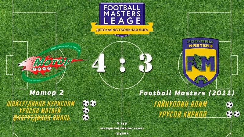 Мотор-2 4:3 Football Masters (2011)