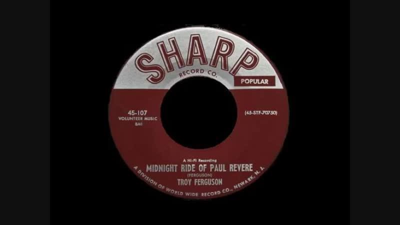 MIDNIGHT RIDE OF PAUL REVERE , SHARP , TROY FERGUSON
