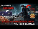 New Hero Granger 27 Kills in 8 Mins Without Death Gameplay By Top 1 Global - Mobile Legends