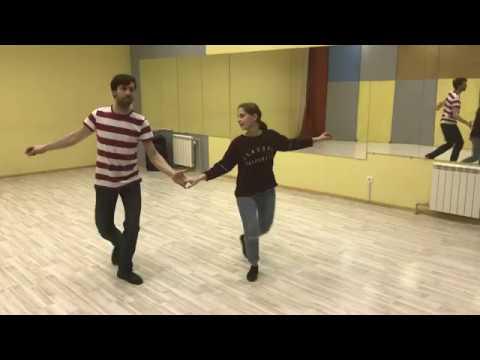 LINDY HOP BI Aksenov Sergey Kocheganova Liubov 2018.04.11 part 1