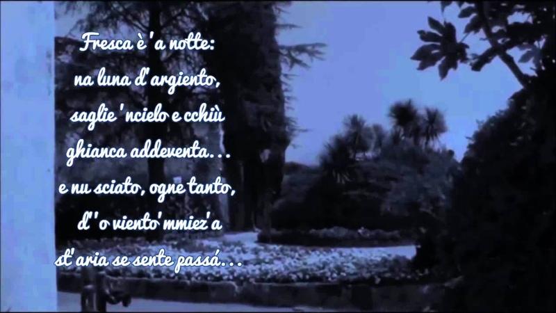 Sergio Bruni Serenata Napoletana con testo Video Mario Ferraro