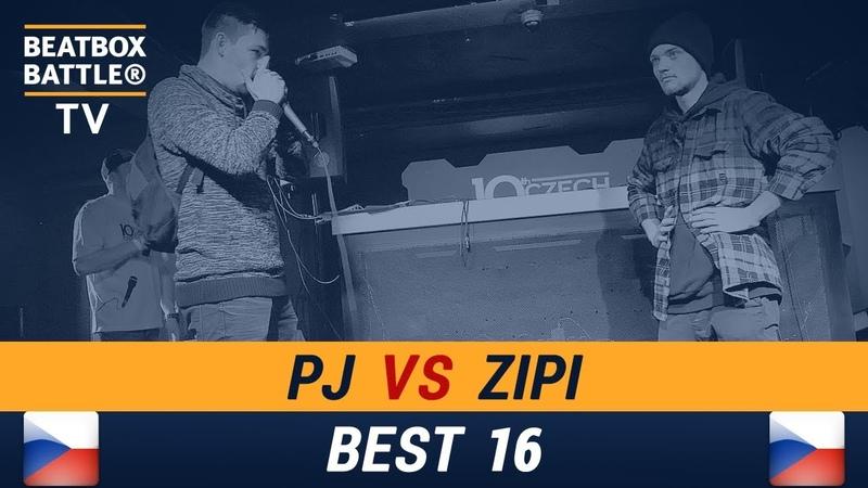 PJ vs Zipi - Best16 - Czech Beatbox Battle