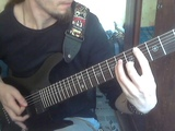 Contact - Dragonland cover (7 string standart tuning)