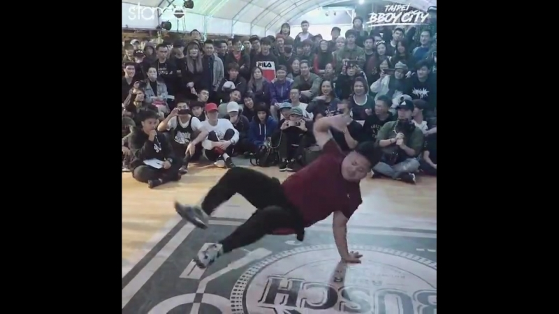 Bboy Dummy - BIG power moves at Taipei BBoy City 2017.