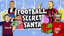 🎁⚽️FOOTBALL SECRET SANTA 2018⚽️🎁 Parody feat Zlatan Messi Ronaldo Neymar Salah and more