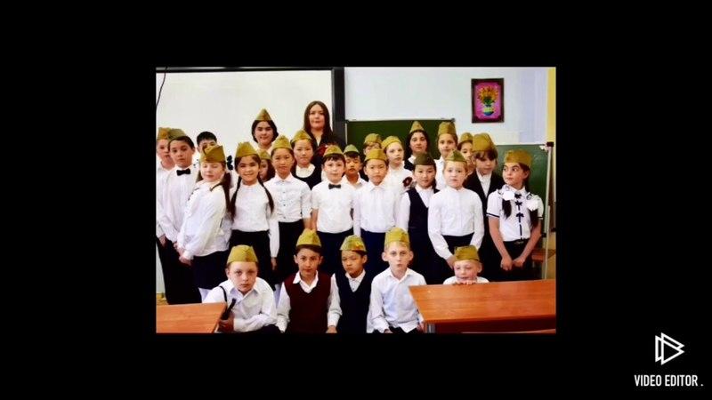 Месяц май (праздничное выступление учеников 3 «д» класса школы 49 посвящённое на День Победы ВОВ)