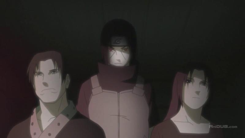 Геноцид клана Учиха. Итачи вступает в Акацуки.