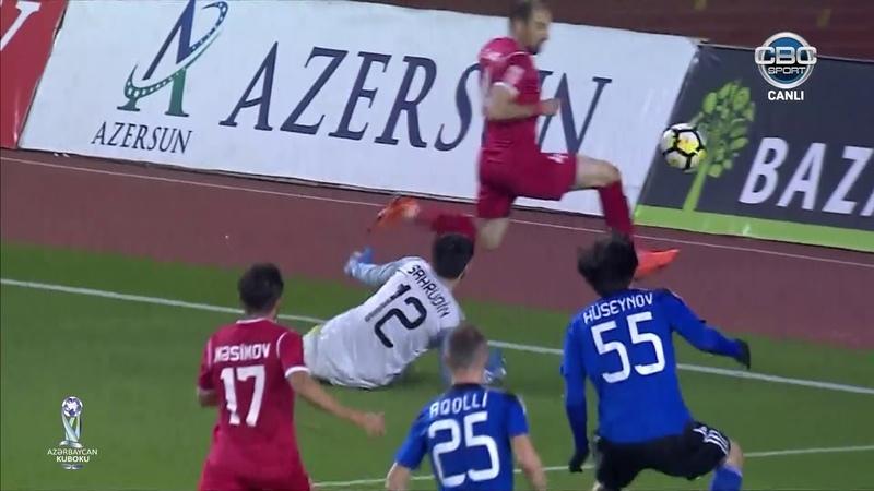 Azərbaycan Kuboku, 1/4 final, ilk oyun, Qarabağ 1-0 Keşlə