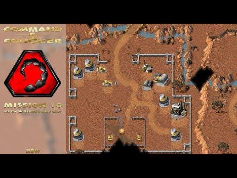 Command Conquer Tiberian Dawn - Nod Mission 10 - Destroy the Mammoth Tank Facility [720p]