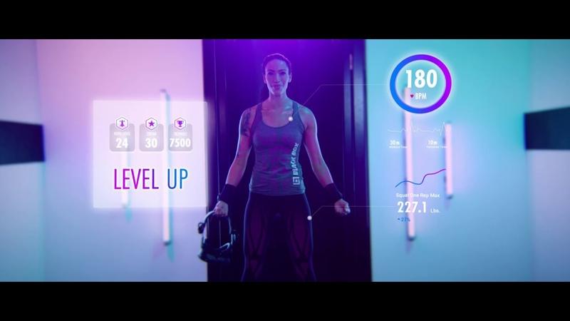 Фитнес в шлеме VR