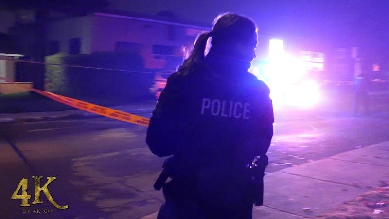 Laval: Meurtre lié au crime organisé / Organised crime fatal shooting 10-11-2018