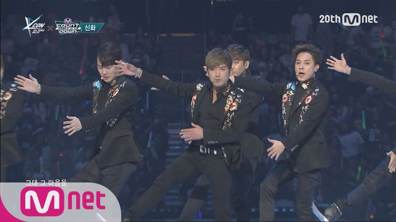 SHINHWA(신화) - 'T.O.P' M COUNTDOWN - FEELZ in LA 150813 EP.437