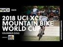2018 UCI XCE Mountain Bike World Cup Colombus USA