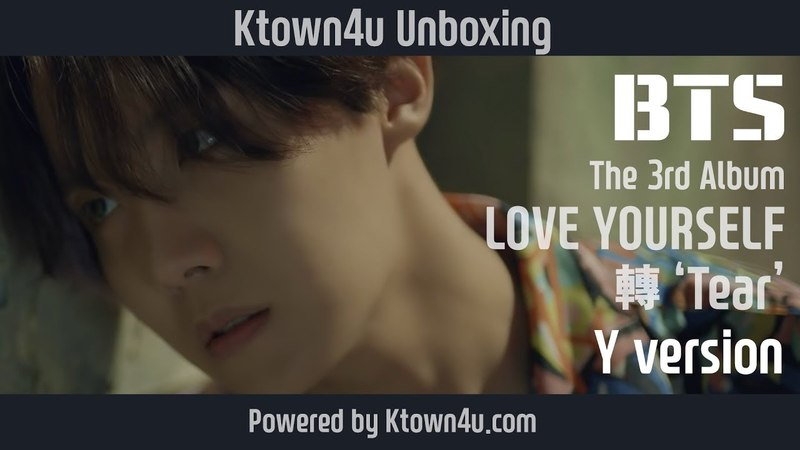 [Ktown4u Unboxing] BTS - The 3rd Album [LOVE YOURSELF 轉 Tear]Y version 방탄소년단