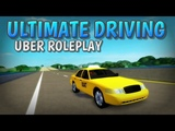Roblox Ultimate Driving - Uber Roleplay (&amp trolling by acting moneyhungry) w Fans
