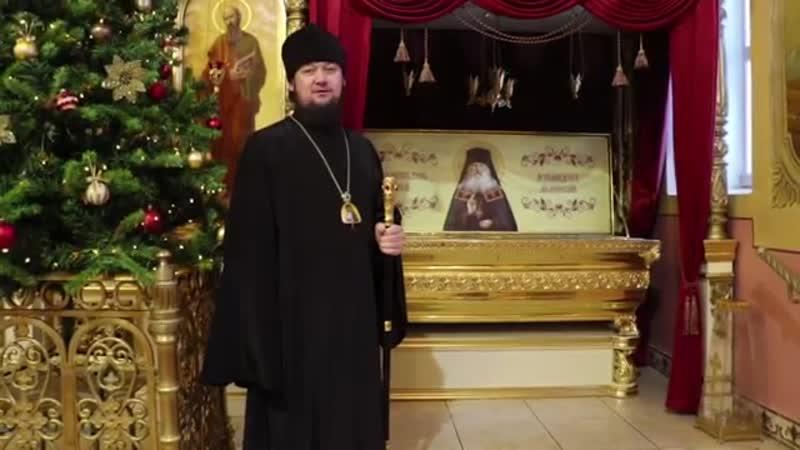 Епископ Мелекесский и Чердаклинский Диодор поздравил димитровградцев с Новым годом и с грядущим Рождеством Христовым