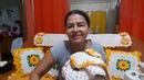 Jogo de tapetes novo para cozinha terminei, já comecei fazer uma colcha em crochê