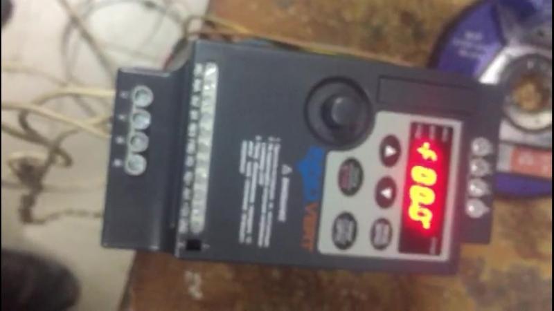 Ремонт преобразователей частоты Innovert так мы тестируем мелкие частотники после ремонта
