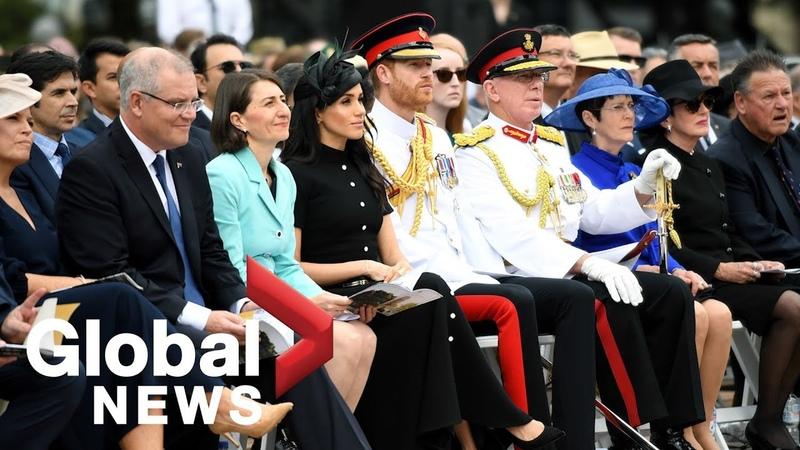 Prince Harry, Meghan Markle attend opening of ANZAC Memorial in Australia