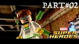 LEGO Marvel Super Heroes - Co-op Walkthrough Part 2 - Times Square Off