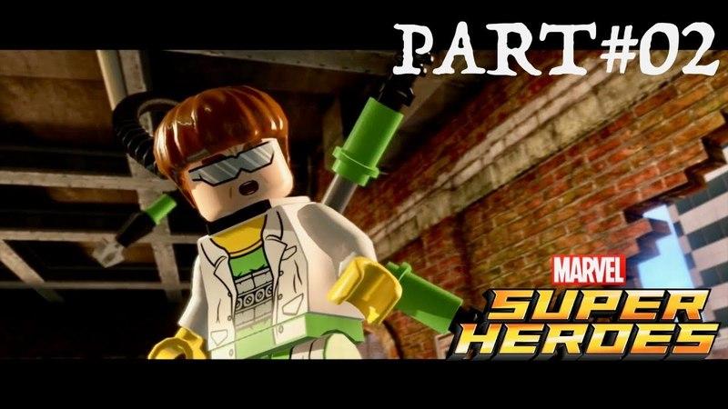 LEGO Marvel Super Heroes - Co-op Walkthrough Part 2 - Times Square Off