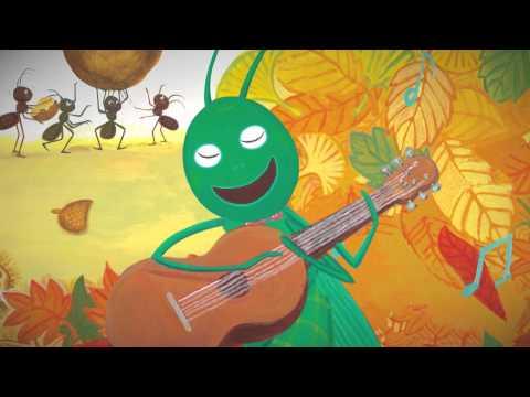 아람세계명작요술램프 1.개미와 베짱이(한글 애니메이션)