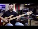 Fernando Molinari Left hand percussive percussive double pluck