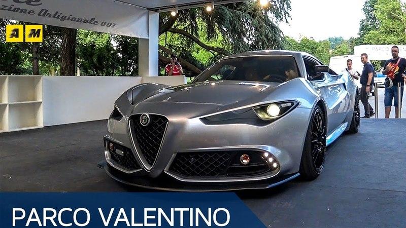 Alfa Romeo 4C | A Torino la Mole Costruzione Artigianale 001 di UP Design