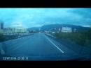 Медведь перебежал дорогу на въезде в Талнах. Норильск, 22 июля 2018