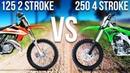 125 2 STROKE VS. 250 4 STROKE