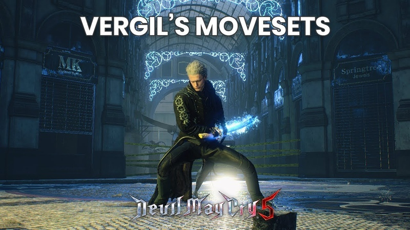 Devil May Cry 5 Vergil Movesets | 1080p 60FPS | PS4, XBOX ONE, PC | CAPCOM | 2019