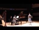 Max Reger; Sonata Op. 107, II. Vivace - Adagio - Vivace: Christine Hoerning (clarinet) Pablo Miró Cortez (piano)