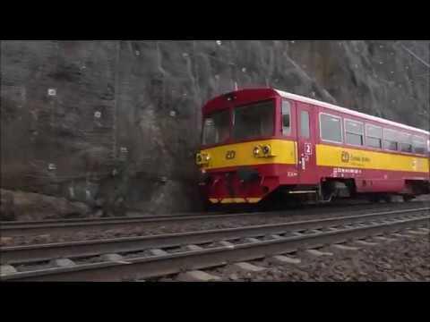 Šocení | Vlaky u Sedleckých skal 25.3.2018