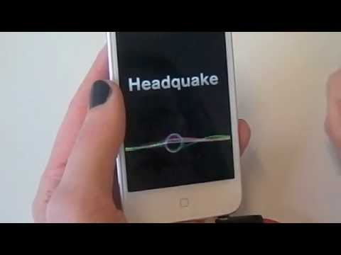 3D Sound - Headquake iPhone App by Sonic Emotion Absolute 3D.