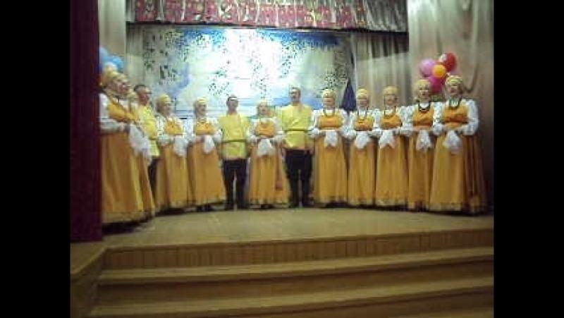 Песня Кукушечка в исполнении Веркольского народного хора. 1 мая 2018г.