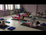 Видео с тренировки «33 Шпагата»