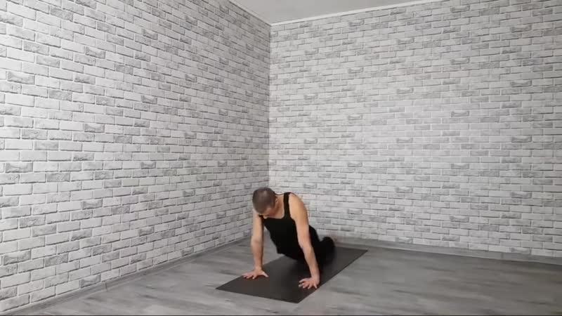Хатха йога йогатерапия позвоночника Прямая трансляция