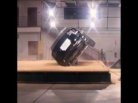 Tesla Model X rollover test