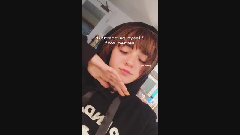 видео с инстаграма истории Мэйси Уильямс